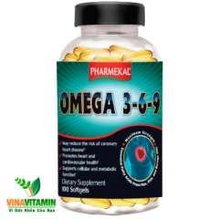 Omega 3-6-9 , giúp chống mỏi mắt sáng mắt  ngăn ngừa tim mạch, 100 viên nan mềm