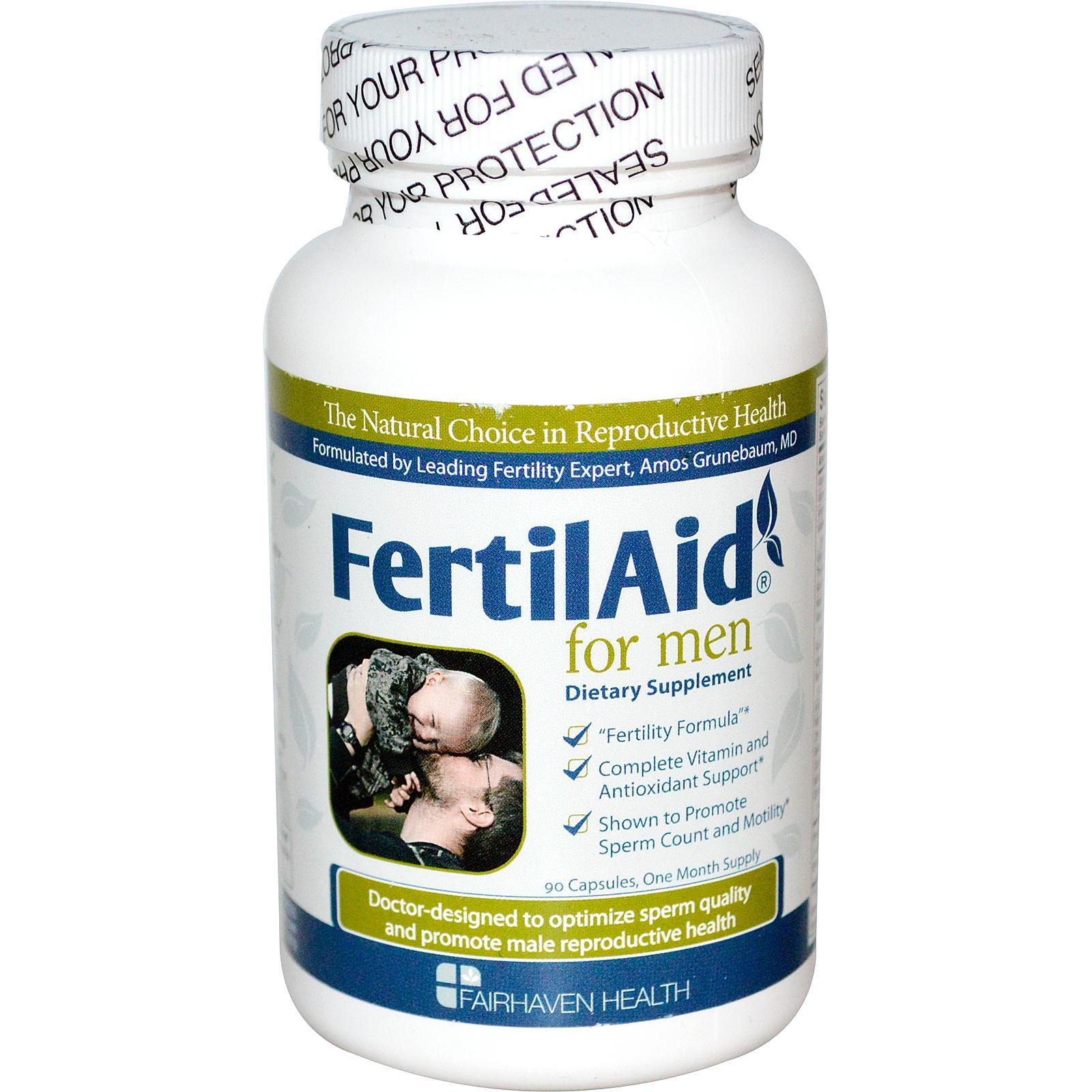 FertilAid for Men làm tăng số lượng và chất lượng tinh trùng