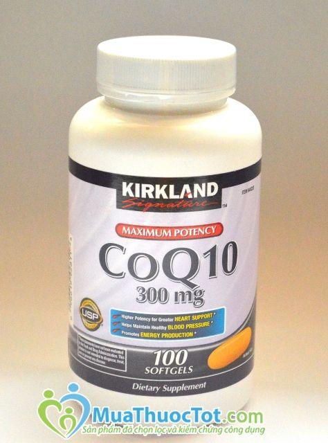 Thuốc hỗ trợ tim mạch Kirkland CoQ10 4
