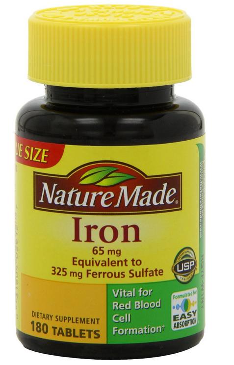 Viên uống bổ sung sắt Nature Made Iron sản phẩm của Nature Made