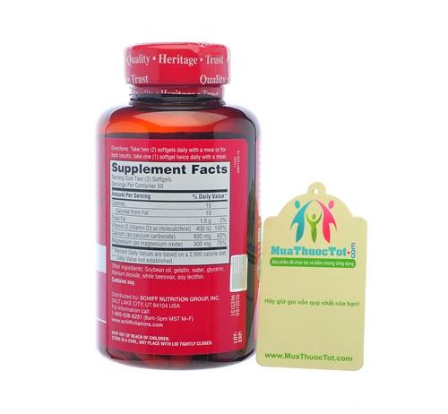 Thuốc Calcium Magnesium Vitamin D3 2