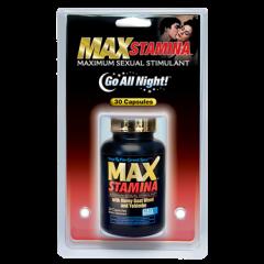 MD Science Lab Max Stamina Clamshell – Viên uống làm chậm quá trình mãn dục ở nam giới, 30 viên