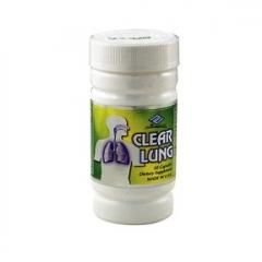 NuHealth Clear Lungs: Viên uống thanh lọc phổi và ngăn ngừa ung thư, 50 viên