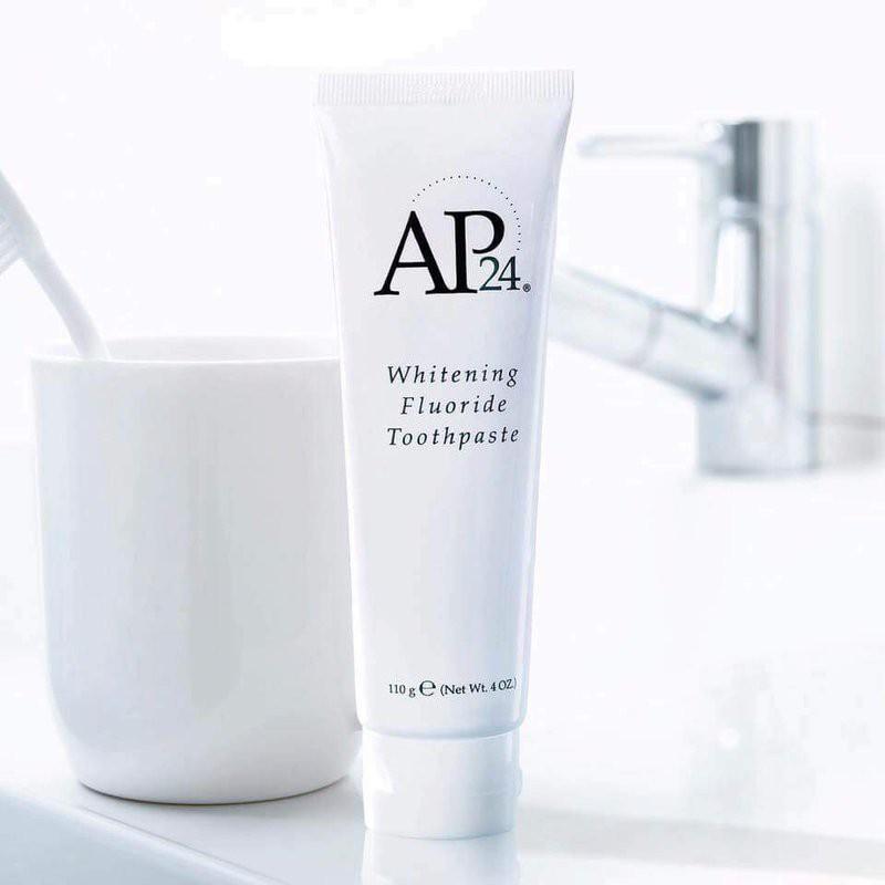 Kem đánh răng nuskin ap24 - whitening fluoride toothpaste 110g, mỹ - cho răng trắng sáng tự nhiên