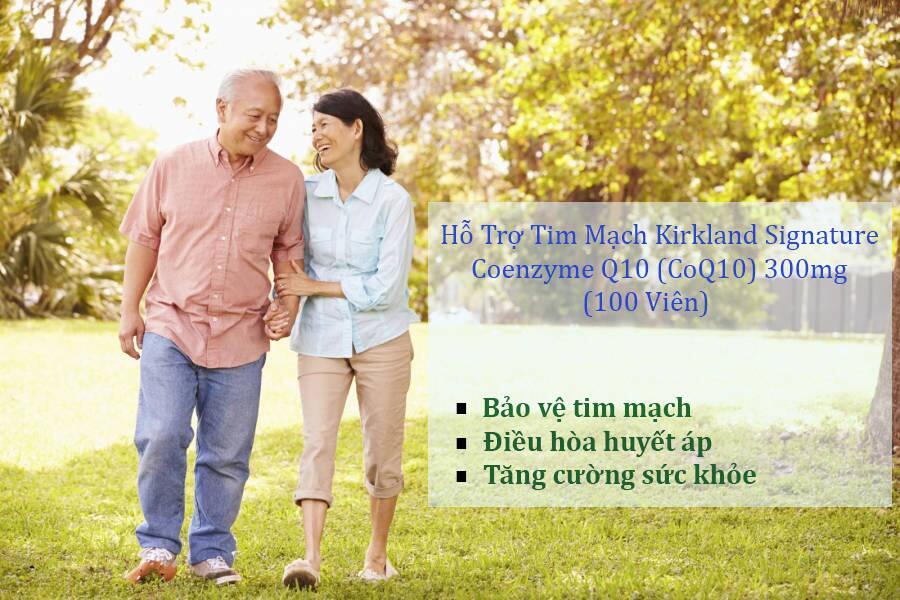 Kirkland coq10 - thuốc bổ sung coq10 hỗ trợ sức khỏe tim mạch, 100 viên